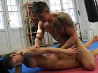 Two couple deep throat orgy vid