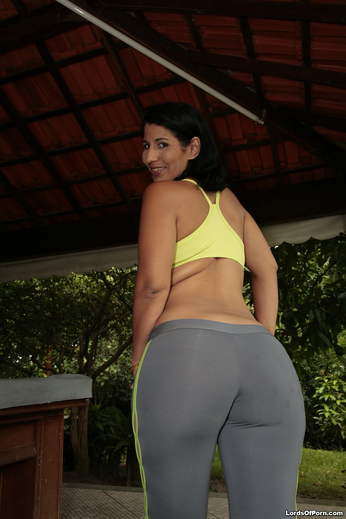 Round And Brown Big Booty