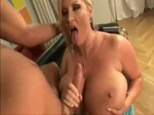 Girl puts whipped cream in pussy